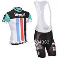 bianchi - NEW Bianchi Team cycling jersey cycling clothing cycling wear short bib suit Bianchi D