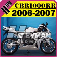 Wholesale Heymanspeedmotor Injection Mold Fairings For Honda CBR1000RR CBR RR Body Kit White H16H578 Free Gifts