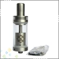 big orchids - Big Capacity Orchid V7 RBA RDA Atomizer mm Airflow Control Glass Tank Stainless Steel DIY Atomizer fit E Cig Mods DHL Free