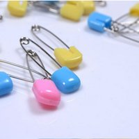 baby nappy pins - Baby Infant Kids Cloth Diaper Nappy Pins Safety Safe Hold Clip Locking Lock Pin Head