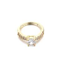 Wholesale SJEWELER HOT new fashion cubic zirconia diamond engagement ring jewelry wedding ring high quality unisex