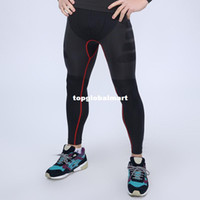 tights for men - Men Skinny Training Pants Cycling Pants Running Tght Athletics Suits Running Pants Sport Tights Activewear for Male