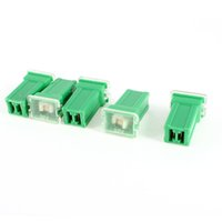 Wholesale FS Hot Truck Car Straight Female Terminals PAL Fuse A Green Pieces order lt no track