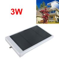 Wholesale 3W Solar Power Motion Sensor Waterproof Heatproof Outdoor LED Lamp LEG_230