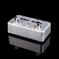AB/Y ab switch guitar - NEW ABY Selector Combine pedal Guitar Switch Box TRUE BYPASS Amp guitarra pedal AB Y