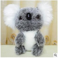 australia bear - 30pcs LJJC2159 New Arrival Stuffed Plush Animals Koala Bear Doll Simulation Bear Cartoon Baby Pet Soft Australia Koala Bear Toys Gift