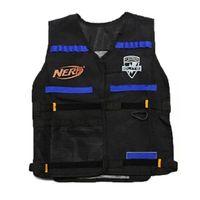 Wholesale New Tactical Vest Jacket Magazine Ammo Holder for Nerf N Strike Elite Foam Bullets