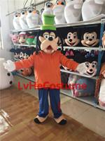 goofy costume - Goofy Dog mascot costume Dress carnival Adult Character Costume Professional custom made New custom Popular film Fancy Party