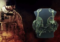 airsoft products - Hot New Hunting Military Airsoft MOLLE Nylon Combat Paintball Tactical Vest Outdoor Products