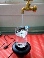 Wholesale Light Water Flow LED Light Wonderful Decoration Novelty Magic Multi Color Water Faucet Lamp Cup