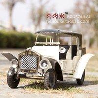 antique rolls royce - RT handmade iron craft antique furnishings Bar Vintage Cars Rolls Royce classic car ornaments