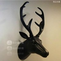 Wholesale Europe type restoring ancient ways furnishing articles of handicraft decorative Nordic animals antlers wall hanging