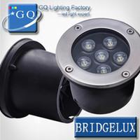 Wholesale 5pcs W LED underground light W Buried lighting LED outdoor lamp light flood light search light w v v v v v v v