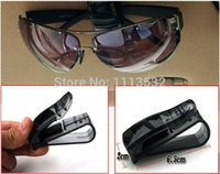 Wholesale Hot Sale auto fastener clip Auto Accessories ABS Car Vehicle Sun Visor Sunglasses Eyeglasses Glasses Ticket Holder Clip A5