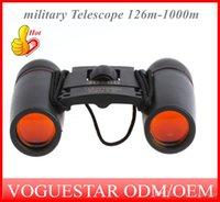 Wholesale Sakura Day And Night Vision X60 Zoom Optical military Binocular Telescope NEW Telescope Bag m m OUT008