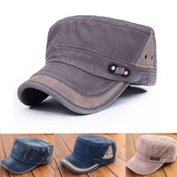 Wholesale 2016 Fashion Military Cap Men Army Hats Women Spring New tactical Military Hat