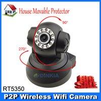 Wholesale Nightvision IR Web Camera WiFi Wireless IP Camera Black Color Free Drop shipping