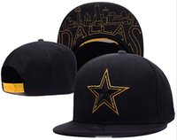 Wholesale New Caps Football Snapback Caps Black Color Hats Dallas Snapbacks Mix Match Order All Caps in stock Top Quality Hat