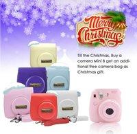 Wholesale 2016 Fuji Instax Mini Film Camera Instant Photos Films Polaroid Camera Christmas Valentine s Day Gift
