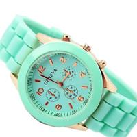 best compass - Best men sports watches GENEVA watch silicone strap watches for mens women children wristwatch gift CS