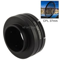 Wholesale 37mm CPL Filter Circular Polarizer Lens Filter with Cap for GoPro Hero