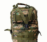 acu camo backpack - Outdoor Sports Single Shoulder Military Tactical Backpack Canvas Camouflage Bag Camping Traveling Hiking Trekking ACU Camo Packs
