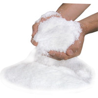 fake snow - Christmas Decoration Instant Snow Magic Prop DIY Instant Artificial Snow Powder Simulation Fake Snow For Night Party