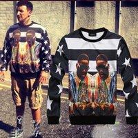 fashion autumn sweater - New Autumn Men Sportswear INC Hip Hop Star Biggie Hoodies Pullovers printing D Sport Sweatshirt Fashion Sweaters Tops S XXL