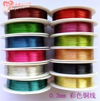 copper wire - 56 Meters Copper Beading Jewelry Wire Craft mm