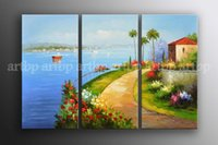 abstract impressionism artists - Large Impressionism Art Oil Landscape Fields Cityscape Painting Oil Painting Artist Canvas Modern Wall Painting Art Buyer