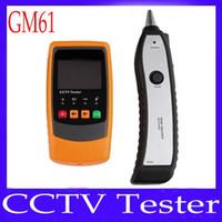 GM61 probador de circuito cerrado de televisión digital portátil con función de control de vídeo MOQ = 1 el envío libre
