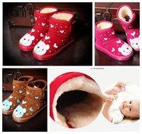 Wholesale Fur Cotton Winter Shoes Infant Snow Shoes Cartoon Designs Snow Boots For Winter High Quality B808