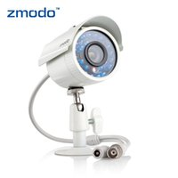 Wholesale Outdoor Waterproof Zmodo ZMD CBH BUS23NM Infrared Inch Color CMOS Image Sensor TV IR Night Vision Lines Camera