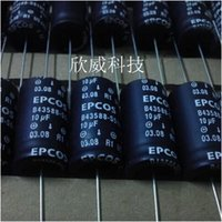 Wholesale German EPCOS B43588 S5106 T11 V10UF LL longevity Axial Capacitor fever