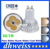 Wholesale High power x3W Dimmable Led Light Lamp Spotlight led bulb GU10 MR16 E27 G5 W Pure White Warm White Cool White