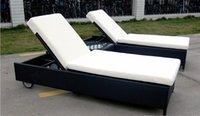 rattan outdoor furniture - Beach lounge chairs rattan outdoor furniture
