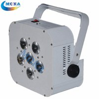 Wholesale 4PCS Moka MK P01 in W Led Par Light DMX LED Wireless Battery Led Uplighting for Stage Special Effect