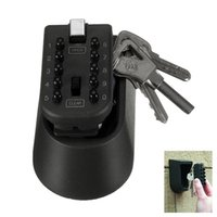 Wholesale OUTDOOR COMBINATION KEY LOCK SAFE WALL MOUNTED HIGH SECURITY WEATHER RESISTANT