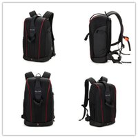 Wholesale SLR Camera Backpack New Nylon Waterproof and Multi Functional Leisure shoulders Bags Business Large Capacity Fashion Black Hard Camera Bags