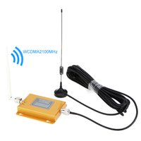 3g signal booster - 3G UMTS WCDMA2100MHz LCD Phone Signal Repeater with Indoor and Outdoor Antenna ft Signal Booster S467