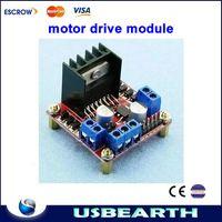 Cheap L298N motor drive module, DC stepper driver controll board