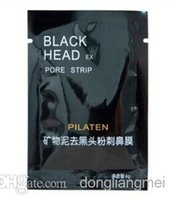 facial mask - 1500pcs PILATEN Tearing Style Deep Cleansing Purifying Peel off Blackhead Close Pores Face Mask Remove Black Head Facial Mask z686
