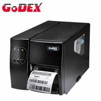 Acheter Autocollants machines d'impression-Godex imprimante à étiquettes code à barres industrielle EZ2050 code qr imprimante adhésive autocollants machine peut imprimer étiquette de vêtements étiquette de lavage