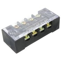 barrier screw - 600V A Dual Row Positions Screw Terminal Electric Barrier Terminal Block High Quality