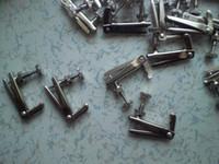 Wholesale 1 Set set Silver Color Violin String adjuster to Quality Violin parts