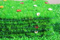 Wholesale Simulation Grass Artificial Grass Mat Artificial Plastic Flowers Stars Grass Lawn Turf Shooting Props Home Garden Decorations Free DHL