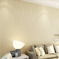 bedroom moulding - High Quality Striped Wallpaper for walls papel de parede adesivo murals for kids room imported chinese wallpaper of wall paper