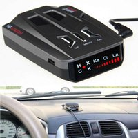 Wholesale Car detector V9 Russian English version brnd led display NK XK Gujia anti laser radar detector the best governor