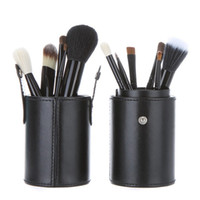 high quality cosmetics makeup - 2015 Valentine Makeup brushes set colors party brushes cup case nude makeup brush set cosmetic high quality makeup brushes