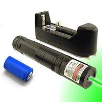 Wholesale Quality nm Green Laser Point Pen Powerful Lazer Visible Beam Light Battery Charger SU